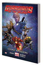 Image: Guardians of The Galaxy Vol. 01: Cosmic Avengers SC  - Marvel Comics