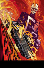 Image: All New Ghost Rider #1 Moore Poster  - Marvel Comics