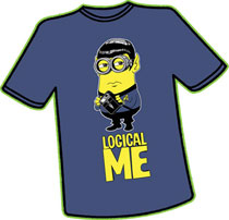 Image: Logical Me T-Shirt  (XXL) - Antarctic Press