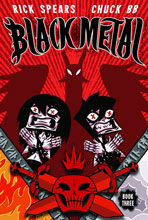 Image: Black Metal Vol. 03: Darkness Enthroned GN  - Oni Press Inc.