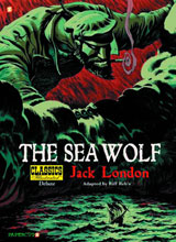 Image: Classics Illustrations Deluxe Vol. 11: Sea Wolf SC  - Papercutz