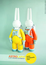 Image: Mr Clement: Astrolapin 10th-Anniversary Figure  (Yellow version) -