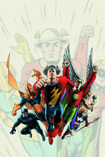 Image: Justice Society of America: A Celebration of 75 Years HC  - DC Comics