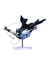 Image: Batman Black & White Dick Grayson as Batman by Jock Statue  (2nd edition) - DC Comics