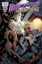 Image: Galaxy Quest: The Journey Continues #3 - IDW Publishing