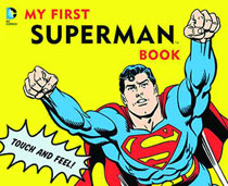 Image: DC Board Book: My First Superman Book  - Downtown Bookworks