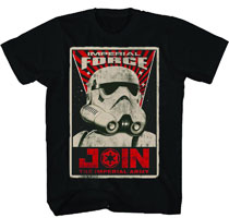Image: Star Wars T-Shirt: The Force Poster Black  (XL) -