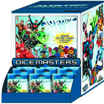 Image: Justice League Dice Masters Foil Packs 90-Count Gravity Feed  -