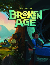 Image: The Art of Broken Age HC  - Dark Horse Comics