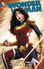Image: Wonder Woman Vol. 08: A Twist of Fate HC  - DC Comics