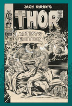 Image: Jack Kirby's The Mighty Thor Artist's Edition HC  - IDW Publishing