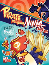 Image: Pirate Penguin vs. Ninja Chicken Vol. 02: Escape from Skull-Fragment Island! HC  - IDW - Top Shelf