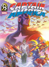 Image: Captain America 75th Anniversary Magazine #1 (Ross cover) - Marvel Comics