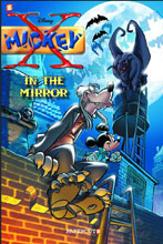 Image: Disney Graphic Novels Vol. 02: X-Mickey / In the Mirror HC  - Papercutz