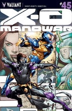 Image: X-O Manowar #45 (cover A - Jimenez) - Valiant Entertainment LLC