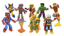 Image: Marvel Minimates Greatest Hits Series 1 Assortment  - Diamond Select Toys LLC