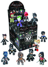 Image: Batman: Arkham Knight Mystery Minis 12-Piece Blind Mystery Box Display  - Funko