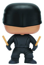 Image: POP! Marvel Vinyl Bobble-Head 119: Daredevil TV Show - Masked Vigilante  - Funko