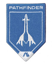 Image: Mass Effect Andromeda Embroidered Patch: Pathfinder  - Dark Horse Comics