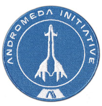 Image: Mass Effect Andromeda Embroidered Patch: Tempest  - Dark Horse Comics