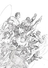 Image: Justice League Unwrapped by Jim Lee HC  - DC Comics