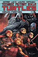 Image: Teenage Mutant Ninja Turtles Vol. 16: Chasing Phantoms SC  - IDW Publishing