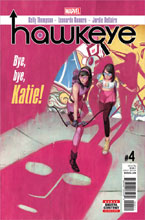Image: Hawkeye #4 - Marvel Comics