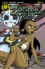 Image: Zombie Tramp #33  [2017] - Action Lab - Danger Zone