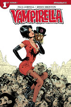 Image: Vampirella Vol. 04 #1 (cover E subscription - Broxton)  [2017] - Dynamite