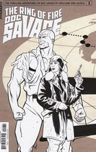 Image: Doc Savage: The Ring of Fire #1 (Brent Schoonover incentive cover - 01031)  [2017] - Dynamite
