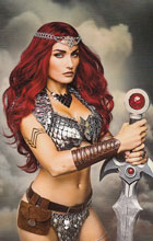 Image: Red Sonja Vol. 04 #3 (Virgin Cosplay incentive cover - 03061) (10-copy)  [2017] - Dynamite