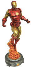 Image: Marvel Gallery PVC Figure: Iron Man  (Bob Layton) - Diamond Select Toys LLC