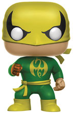 Image: POP! Marvel Previews Exclusive Vinyl Bobble-Head 188: Iron Fist  - Funko