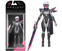 Image: League of Legends Legacy Collection Action Figure 01: Project: Fiora  - Funko