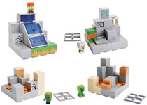 Image: Minecraft Mini-Figure Environment Set Assortment  - Mattel Toys