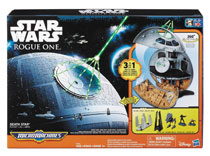 Image: Star Wars: Rogue One Micro Machines - Death Star Playset Case  - Hasbro Toy Group