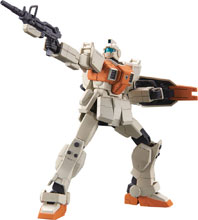 Image: HGUC MS Gundam GM Ground Type 08th Ms Team Model Kit  (1/144 scale) - Bandai Hobby