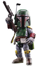 Image: Star Wars Action Figure: HMF-016 Boba Fett  - Hero Cross Co. Ltd