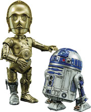 Image: Star Wars Action Figure: HMF-024 C3PO & R2D2  - Hero Cross Co. Ltd