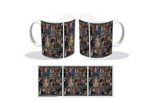 Image: Doctor Who Coffee Mug: Every Doctors and Companions  - Titan Books Uk