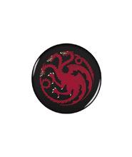 Image: Game of Thrones Button: Targaryen  - Dark Horse Comics