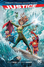 Image: Justice League Rebirth Deluxe Edition Book 02 HC  - DC Comics