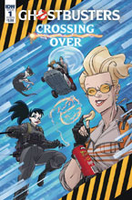 Image: Ghostbusters: Crossing Over #1 (cover B - Schoening) - IDW Publishing
