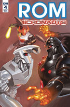 Image: Rom & the Micronauts #4 (cover A - Su) - IDW Publishing