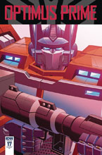 Image: Optimus Prime #17 (incentive cover - Thomas Deer) (10-copy) - IDW Publishing