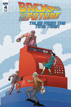 Image: Back to the Future: Time Train #4 (cover A - Levens) - IDW Publishing
