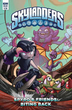 Image: Skylanders Quarterly: Spyro & Friends Biting Back  (cover A - David Baldeon) - IDW Publishing