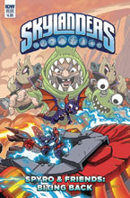 Image: Skylanders Quarterly: Sypro & Friends Biting Back  (cover B - Jack Lawrence) - IDW Publishing
