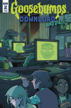 Image: Goosebumps: Download & Die #2 (cover A - Wong) - IDW Publishing