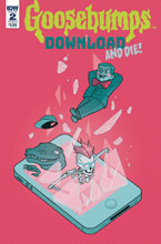 Image: Goosebumps: Download & Die #2 (cover B - Kelly) - IDW Publishing